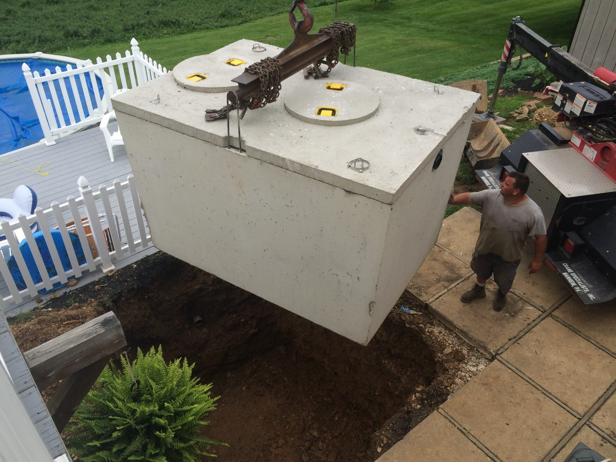 Septic Tank Installation at Emory J. Peters Excavating and Paving Contractor, Inc.