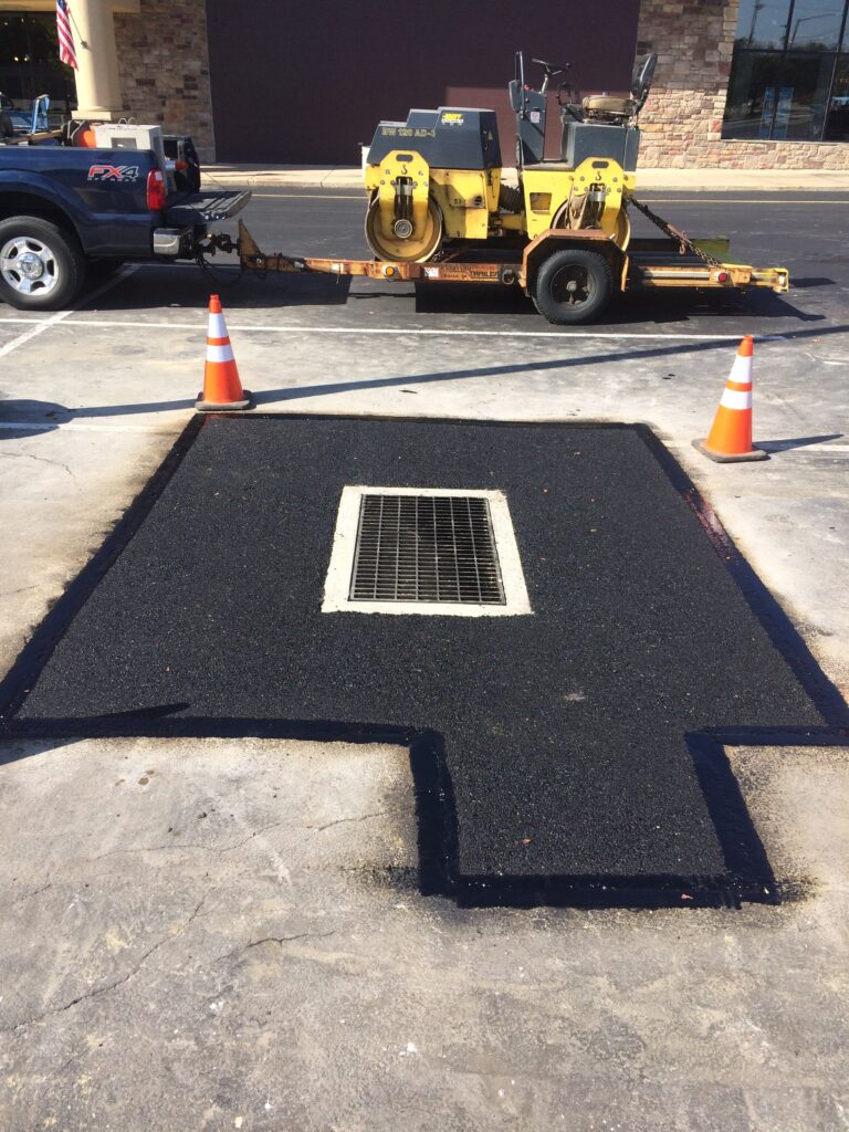 Storm Drain Inlet Repair at Emory J. Peters Excavating and Paving Contractor, Inc.